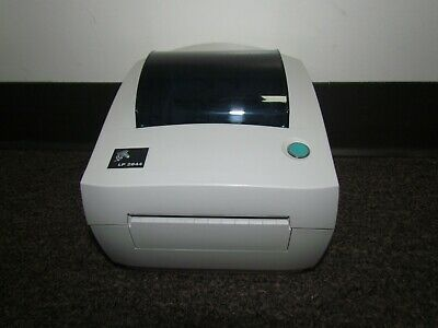 ZEBRA ORIGINAL LP 2844 Label Thermal Printer With Power