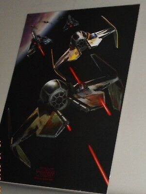Star Wars Revenge Of The Sith Limited Edition 3-D Lithographic Art Print New