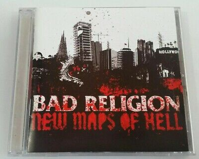 Bad Religion - New Maps of Hell (CD, 2007) Disc is Near Mint!