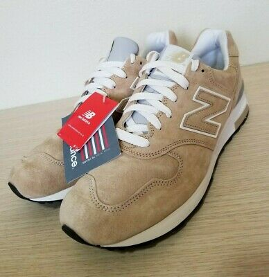 New Balance 1400 Classic Running Shoes Beige Khaki Suede USA Size 12 ( M1400BE )