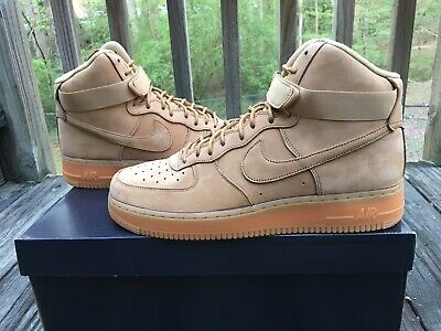los angeles f3d34 5920a Nike Air Force 1 High Flax Wheat 882096-200 Men s Sz 12 New In Box