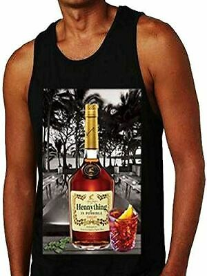 a42b5d97 Hennything is Possible Bottle Tank Top Shirt Printed On Shaka Wear Tee