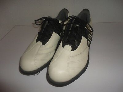 buy popular ee8bb 5e993 ADIDAS Fitfoam Women s Z-Traxion Black White 791003 Golf Shoes Size 6