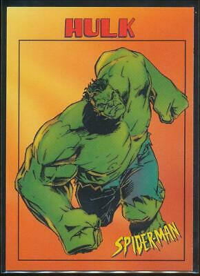 1997 Spider-Man .99 Trading Card #9 Hulk