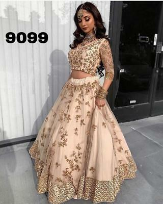 9b2af4bd69 Indian Ethnic Wedding Lehenga Choli Pakistani Designer Chaniya Lengha CHOLI