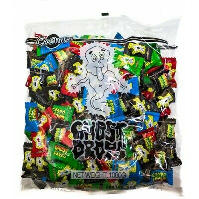 Cosmic GHOST DROPS approx 240 pieces 1080g Bulk Bag FREE POSTAGE