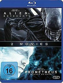 Prometheus & Alien: Covenant [Blu-ray] | DVD | état très bon