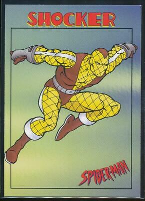 1997 Spider-Man .99 Trading Card #30 Shocker