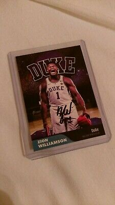 ZION WILLIAMSON 2019 Duke Blue Devils Rookie Card RC
