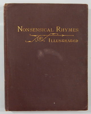 Charles Henry Ross / Nonsensical Rhymes Illustrated Rummical Rhymes Ye Comical