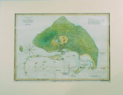 William WIlson / Chart of the Island and Harbour of Tongataboo 1799