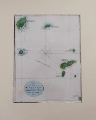 Chart of the Marquesas by Capt James Wilson in the Ship Duff / 1799