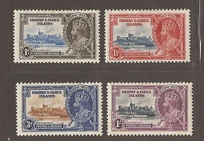 1935 Gilbert And Ellice Jubilee Stamp Set - Mlh