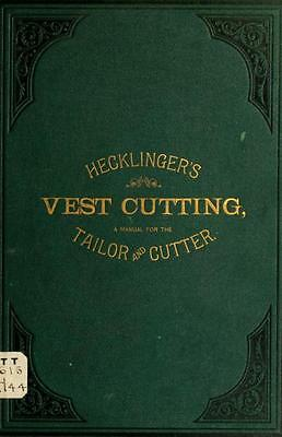 135 Old Tailoring Books On Dvd- Tailor Suit Garment Fitting Design Sewing Manual