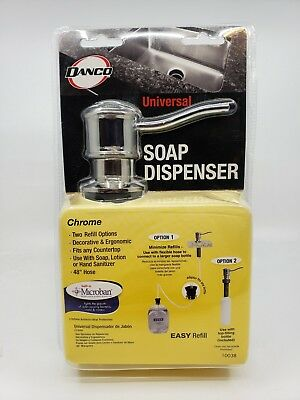 New Danco 10038 Universal Curved Soap Dispenser Oil Rubbed Bronze Free Shipping!