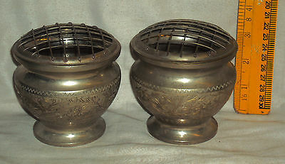 Antique Traditional Indian Incense Burner WHITE METAL Rare Ritual Collectible