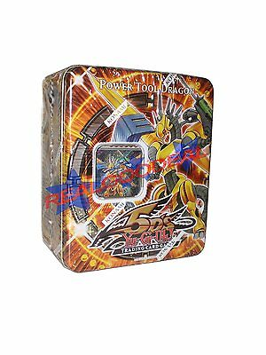 Yu-Gi-Oh Power Tool Dragon Tin - 2009 - Yugioh Power Tool Dragon Tin - New