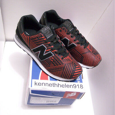 save off 9adca c0530 NEW BALANCE 574 Beaded Shoes Ml574Tbe Black Flame Mens Size 9 ...