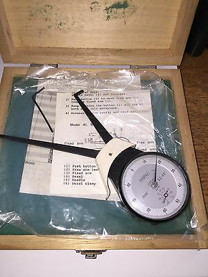 """Fowler Dial Caliper Gage Froove 3.2-4.0"""" .0005"""" Jewels 52-554-008"""