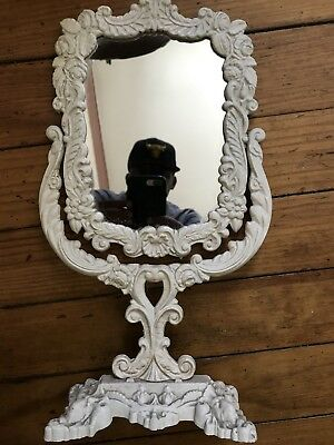 Cast Iron Ornate Picture Photo Mirror Frame