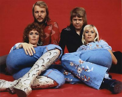 'ABBA' (a) A4 POSTER PRINT, POSTED WITHIN 24 HOURS OF CLEARED PAYMENT, .