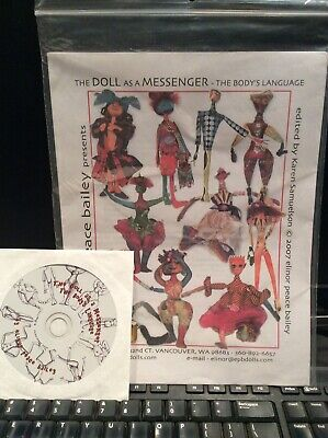 Cloth Doll Patterns CD By Elinor Peace Bailey