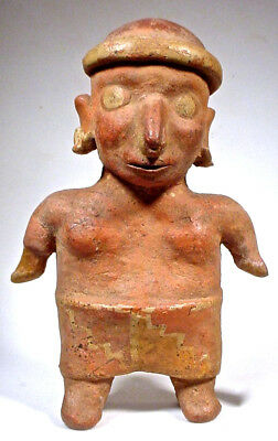 Pre-Columbian  Female Figure Nayarit Mexico Coa