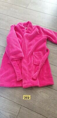 Girls Pink Dressing Gown From Bluezoo Age 4-5 Years