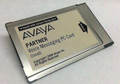 Avaya Partner Voice Messaging PC Card (Small) 700226517
