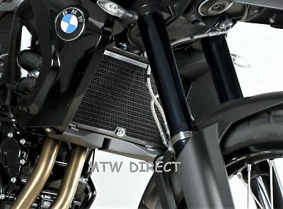 BMW F800 R 2009-2018 R&G Racing black radiator guard cover protector RAD0082BK