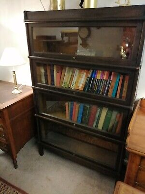 Globe Wernicke bookcase, vintage bookcase, antique bookcase, shop display