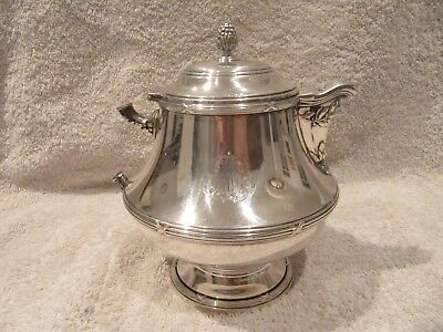 early 20th c french sterling silver teapot Odiot Louis XVI st 592g 20,88oz