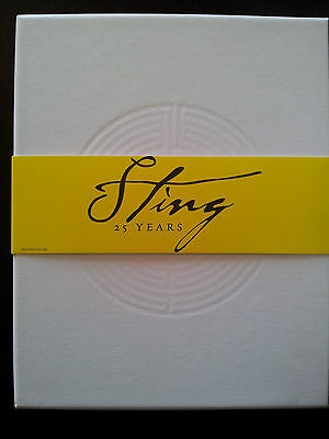 STING 25 years coffret [3CD + DVD] Box set Edition by Sting