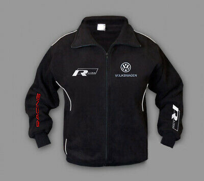 Men's new jacket Volkswagen R Line fleece jacket with quality embroidered logos