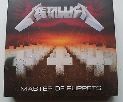 METALLICA Master of Puppets (3 CD digipack)