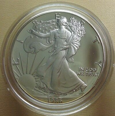 1986-S American Eagle (1oz) Proof Silver Bullion Coin