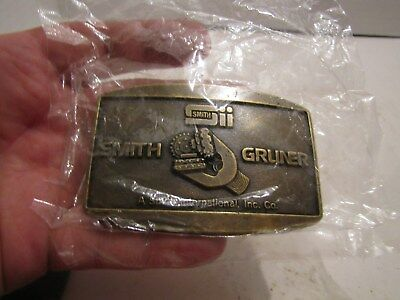 Vintage Smith & Gruner Nip Belt Buckle
