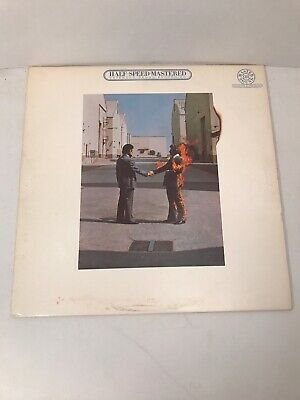 Pink Floyd Wish You Were Here Half-Speed Mastered Audiophile LP Vinyl Record