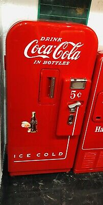 Original 1950's Antique COKE MACHINE Coca Cola RESTORED Coin Op Vending VMC 39