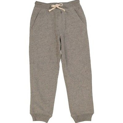 Polo Ralph Lauren: Kids Grey Cuffed Jogging Bottoms{Size 7Yrs}{RRP£59}
