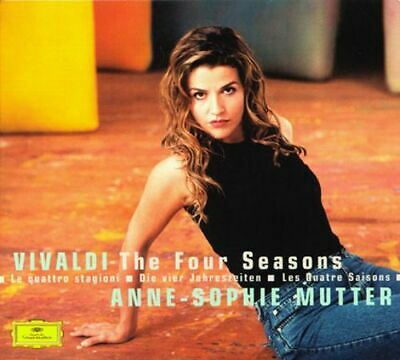 VIVALDI Four Seasons Tartini Devil's Trill  Anne-Sophie Mutter CD DISC ONLY #90B