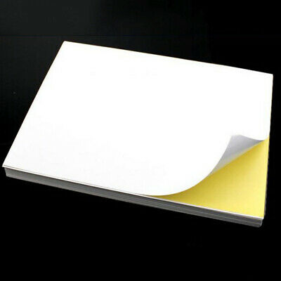 Sticker Paper For Laser Printer Clear Self Adhesive Blank Waterproof Label A4