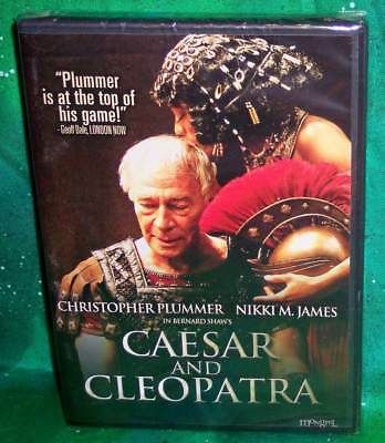 New Rare Oop Christopher Plummer Caesar And Cleopatra Theatrical Play Dvd 2009