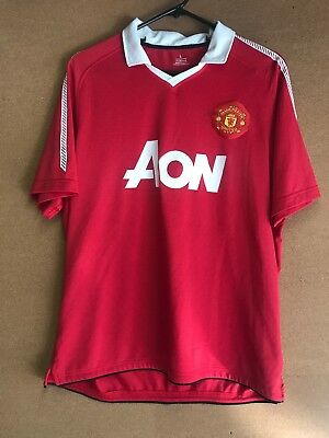official photos 8a406 eb0c2 RARE VTG AON Manchester United JESSE LINGARD 14 Jersey LARGE MENS