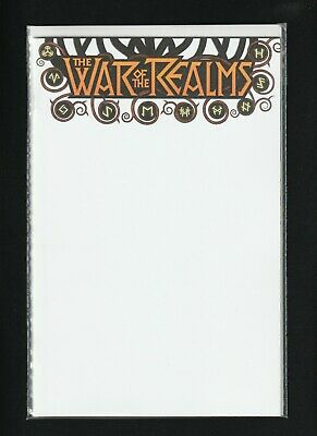 War Of The Realms #1 - Blank Cover Variant - NM