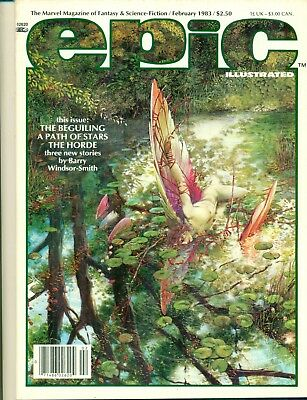 Epic Illustrated #16 By Barry Windsor Smith Dave Sim Vess Epic Marvel NM/M 1983