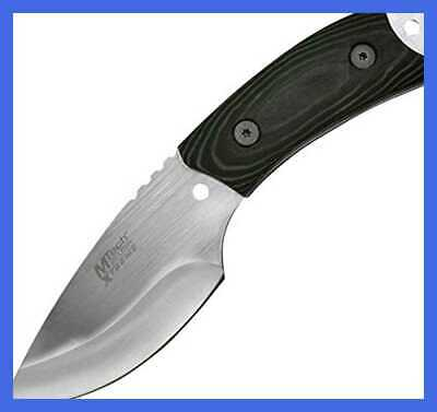 "Xtreme MX 8035 Fixed Blade Tactical Knife BLACK Micarta Handle 7"" Overall"