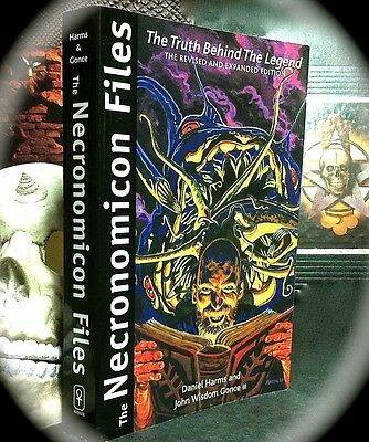 Necronomicon Files: Truth Behind The Legend ~ Revised Edn Sc ~ Magick * Occult