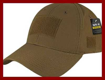 96c282178 COYOTE BROWN MILITARY Low Profile Adjustable Tactical Hat Operator ...