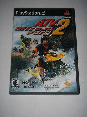Sony Playstation 2 Video Game ATV Offroad Fury 2